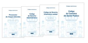 Nueva colección ampliada y mejorada de códigos electrónicos, presentada por ramas del derecho.